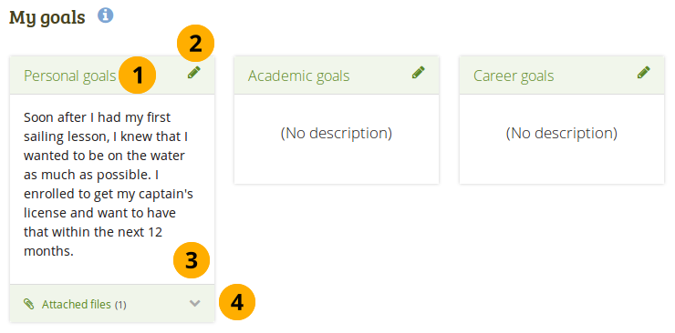 sample career goals and objectives