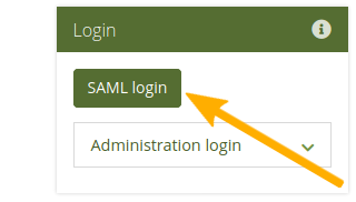 More prominent SSO login button